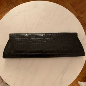 Embossed Kenneth Cole clutch
